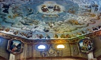 Ceiling Paintings of Roman Catholic Church
